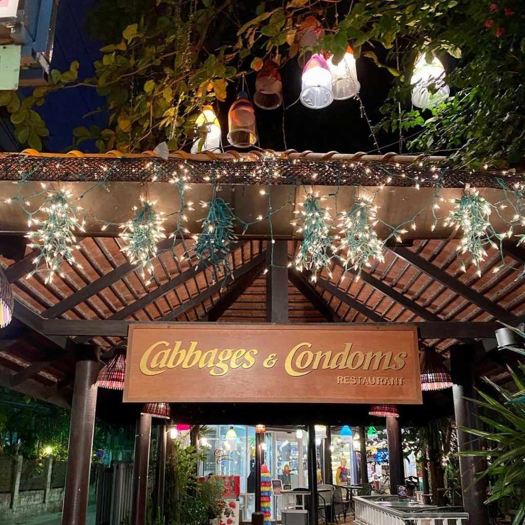 Cabbages & Condoms Cafe